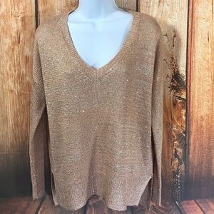 The Limited V Neck Sweater Long Sleeve Size XS new